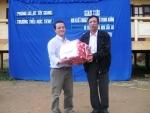 Giao lưu kết nghĩa với trường TH TrHy huyện Tây Giang