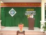 Sinh hoạt kỉ niệm ngày thành lập ĐCSVN  03/02/1930-03/02/2018 trường TH Sơn Phong