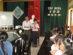 Tập huấn Sơ cấp cứu tại trường TH Cẩm Thanh