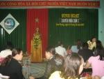 Tin sinh hoạt chuyên môn cụm 2 – Trường tiểu học Sơn Phong:
