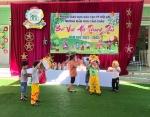 Trường MG Cẩm Châu tổ chức Vui trung thu cho các cháu