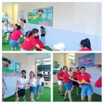 Trường MG Cẩm Nam Chào mừng kỉ niệm 90 năm ngày TLHLHPN Việt Nam và 10 năm ngày phụ nữ Việt Nam.