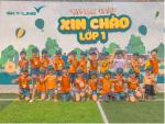 Trường MG Cẩm Nam tổ chức cho trẻ khối MG lớn đi tham quan môi trường lớp 1 tại trường Sky- Line