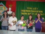 Trường MN Cẩm Châu tổ chức Hội nghị tổng kết 5 năm  Phong trào thi đua ''Xây dựng trường học  thân thiện, học sinh tích cực''
