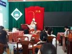 Trường TH Cẩm An tập huấn phòng chống Covid 2019