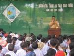 Trường TH Cẩm Thanh triển khai phát động tháng ATGT