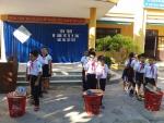 Trường TH Cẩm Thanh -Tuyên truyền nói không với túi ni lông, năm học 2017 -2018