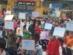 Trường TH Nguyễn Bá Ngọc  tổ chức Rung chuông vàng cho học sinh khối 1