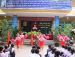 Trường TH Trần Quốc Toản tổ chức đại hội Liên Đội năm học 2017-2018