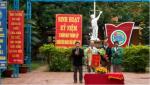 Trường THCS Kim Đồng tổ chức kỷ niệm 75 năm ngày thành lập Quân đội nhân dân Việt Nam và 30 năm ngày hội Quốc phòng toàn dân.
