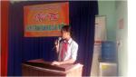 Trường THCS Phan Bội Châu tổ chức Hội thi thuyết trình văn học cấp trường