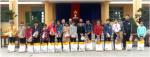 Trường THCS Phan Bội Châu Trao quà cho học sinh khó khăn