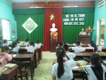 """Trường Tiểu học Bùi Chát tổ chức hội thi vẽ tranh """"chúng em với an toàn giao thông"""""""