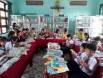Trường Tiểu học Cẩm An tổ chức tuyên truyền hưởng ứng ngày sách Việt Nam 21/4