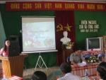 Trường Tiểu học Cẩm Kim tổ chức Hội nghị cán bộ công chức Năm học 2011-2012