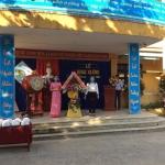 Trường Tiểu học Cẩm Thanh tổ chức lễ khai giảng năm học mới 2020 - 2021