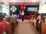 Trường Tiểu học Lương Thế Vinh phối hợp với Trung tâm y tế thành phố Hội An tổ chức tập huấn về công tác phòng, chống dịch bệnh Covid-19 cho tập thể cán bộ, giáo viên, nhân viên nhà trường.