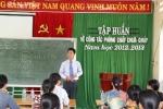 Trường tiểu học Phù Đổng tổ chức buổi tập huấn về công tác phòng cháy, chữa cháy