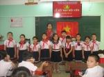 Trường Tiểu học Sơn Phong tổ chức Lễ kết nạp đội viên  Năm học 2019-2020